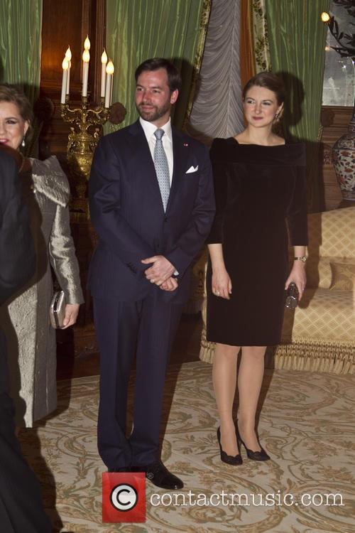 Prince Guillaume and Countess Stephanie De Lannoy 4