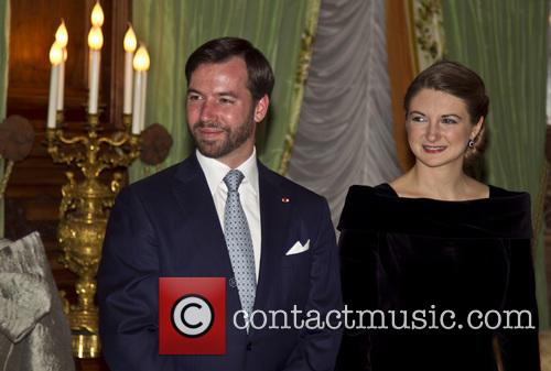 Prince Guillaume and Countess Stephanie De Lannoy 5