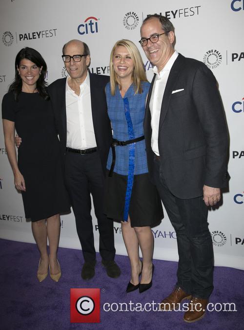 Maureen Reidy, Matt Blank, Claire Danes and David Nevins 1