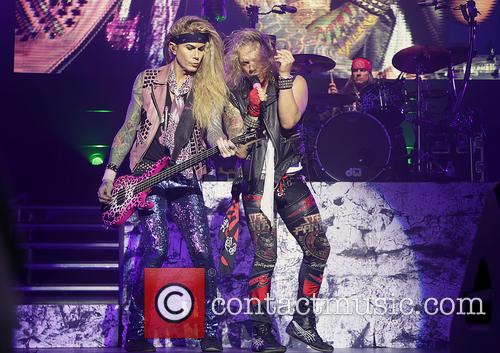 Steel Panther, Michael Starr and Lexxi Foxx 11
