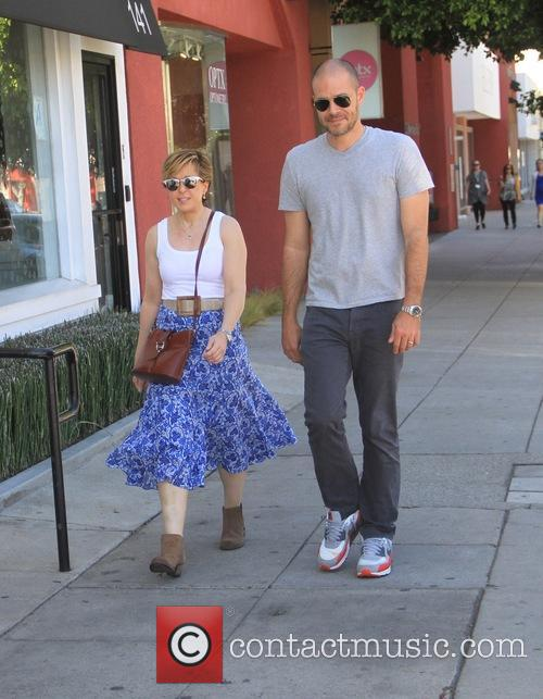 Yeardley Smith shopping with a friend in Hollywood