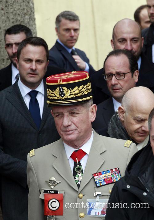 Xavier, Francois Hollande and Benoît Puga 2
