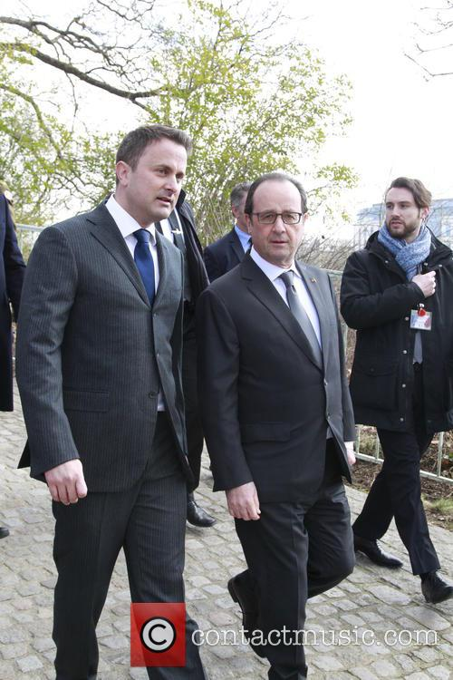Xavier and Francois Hollande 1