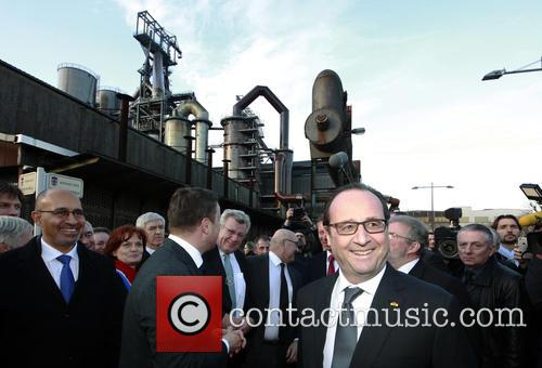 Harlem, Francois Hollande and Grand Duke Henri Of Luxembourg 4