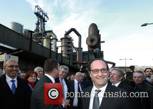 Harlem, Francois Hollande and Grand Duke Henri Of Luxembourg 5