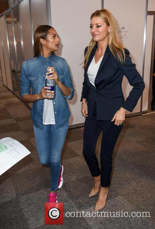 Alesha Dixon and Tess Daly 2
