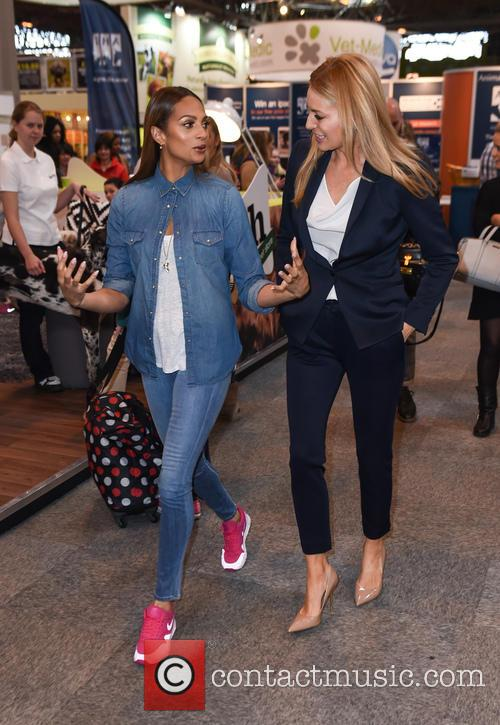 Alesha Dixon and Tess Daly 3