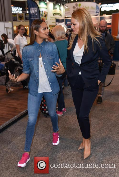 Alesha Dixon and Tess Daly 4