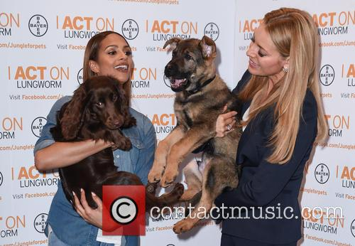 Alesha Dixon and Tess Daly 7