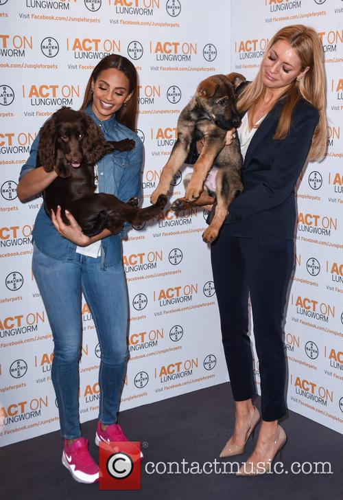 Alesha Dixon and Tess Daly 9