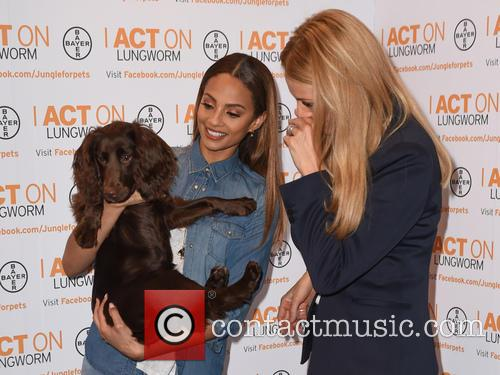 Alesha Dixon and Tess Daly 11