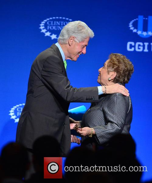 Bill Clinton and Donna E. Shalala 2