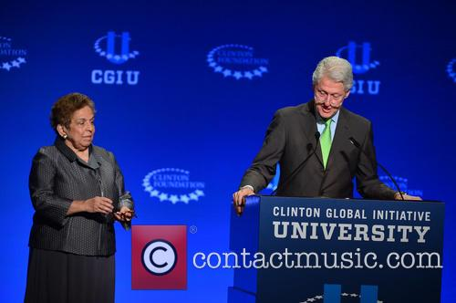 Bill Clinton and Donna E. Shalala 5