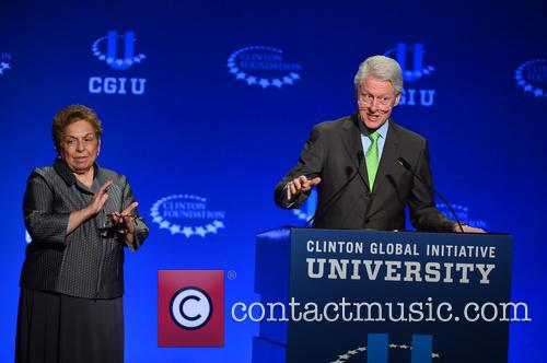 Bill Clinton and Donna E. Shalala 6