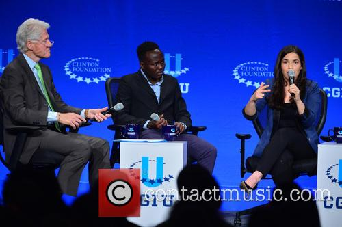 America Ferrera, Paul Lorem and Bill Clinton 10