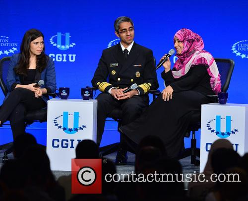 America Ferrera, Tawakkol Karman and Vivek Murthy 4