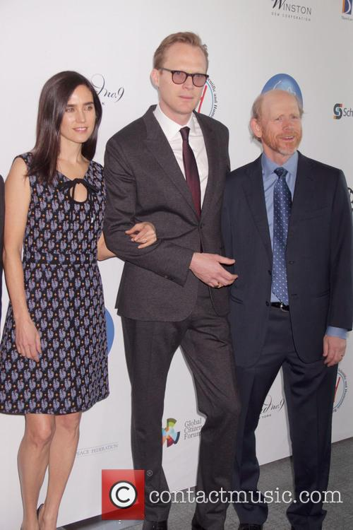 Jennifer Connelly, Paul Bettany and Ron Howard 2