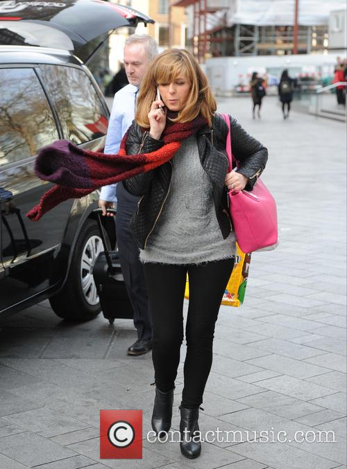 Kate Garraway out and about in London