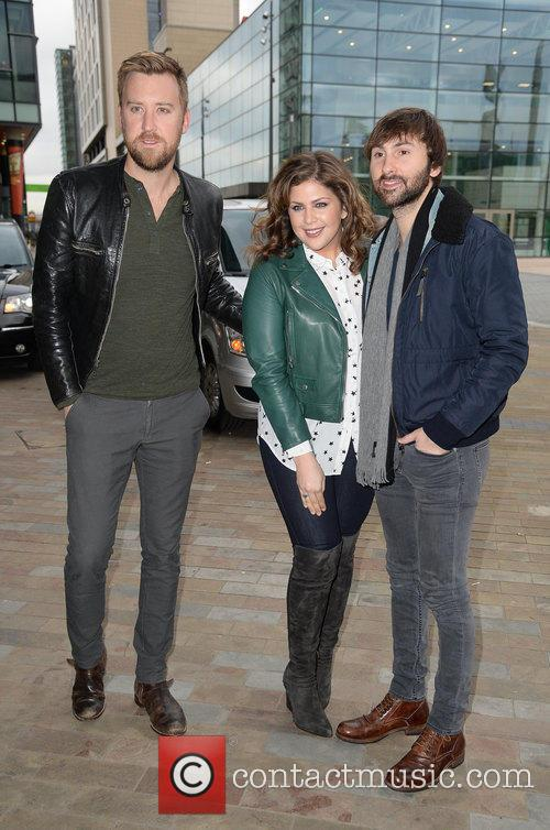Charles Kelley, Hillary Scott and Dave Haywood 3
