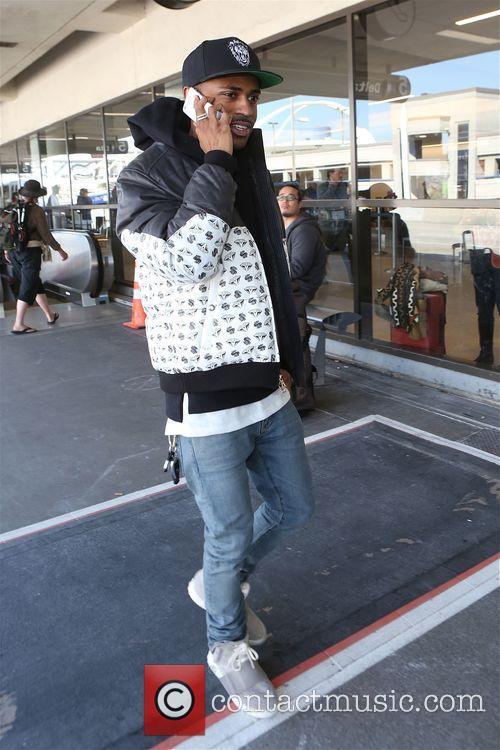 Big Sean departs Los Angeles from LAX