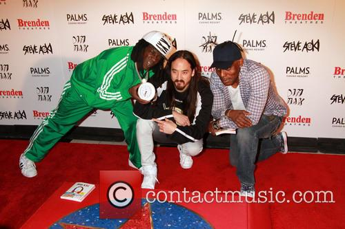 Flavor Flav, Steve Aoki and Coolio 7