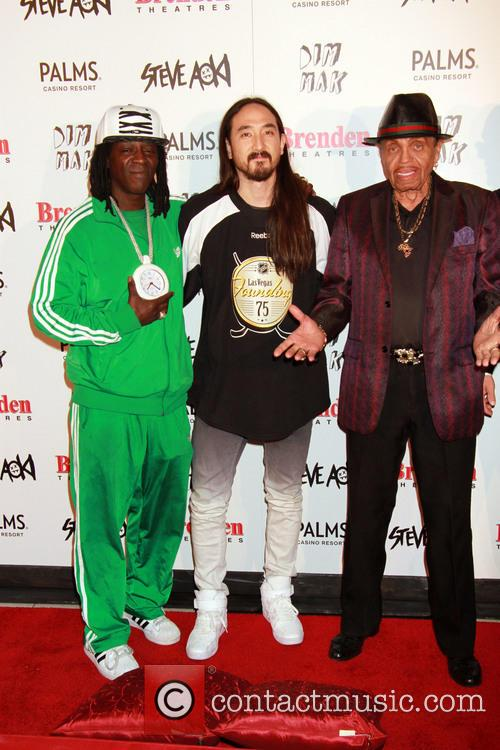Flavor Flav, Steve Aoki and Joe Jackson 3