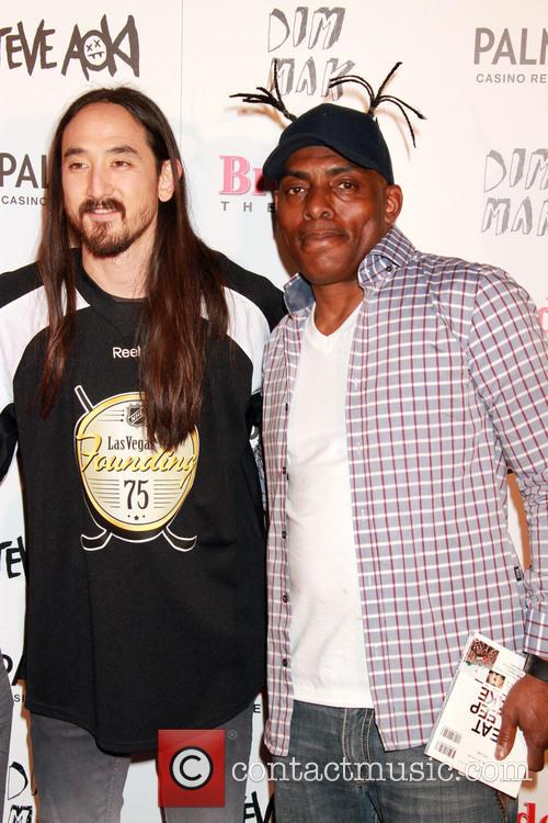 Steve Aoki and Coolio 11
