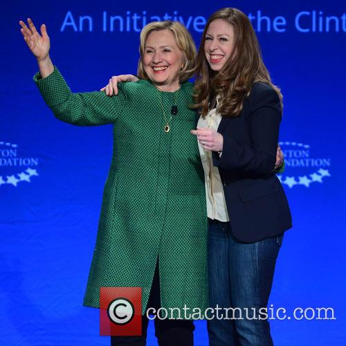 Hillary Clinton, Former U.s. Secretary Of State and Chelsea Clinton 1