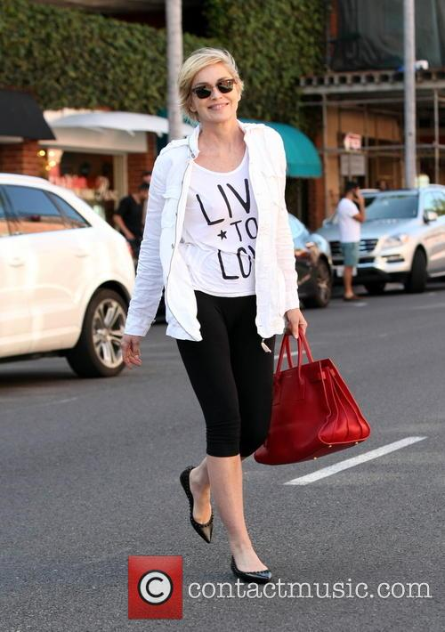 Sharon Stone out and about in Beverly Hills