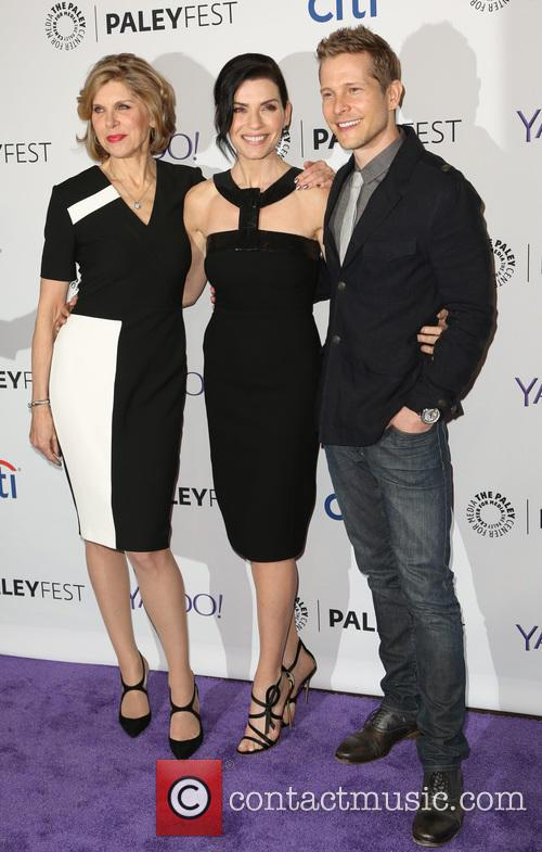 Christine Baranski, Julianna Margulies and Matt Czuchry 11