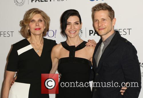 Christine Baranski, Julianna Margulies and Matt Czuchry