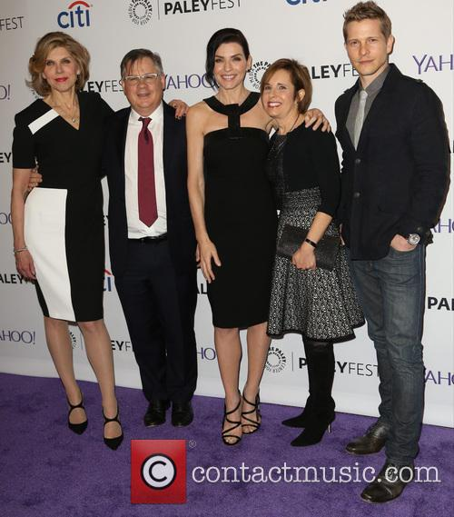 Christine Baranski, Robert King, Julianna Margulies, Michelle King and Matt Czuchry