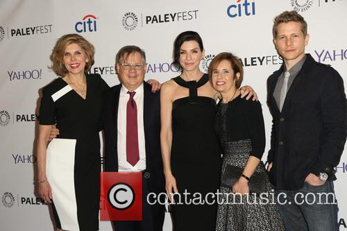 Christine Baranski, Robert King, Julianna Margulies, Michelle King and Matt Czuchry 10
