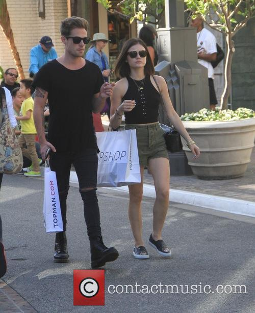 Lucy Hale and Adam Pitts 2