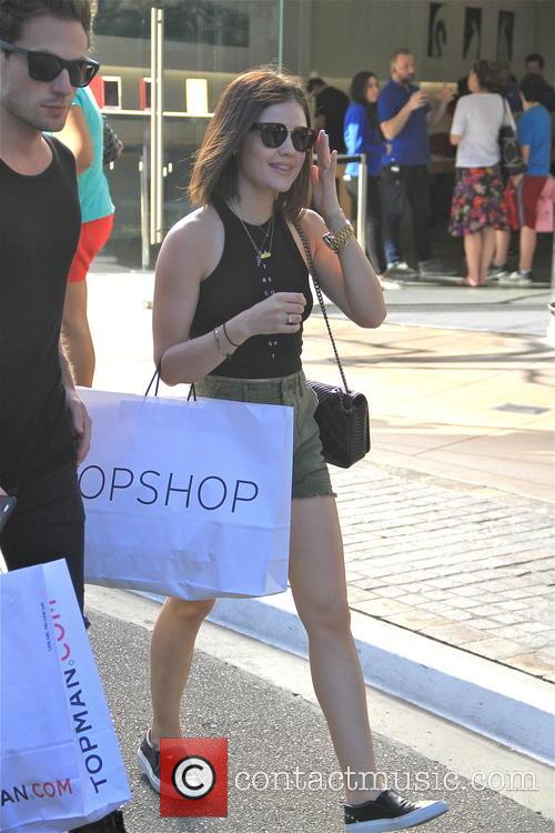Lucy Hale and Adam Pitts 8