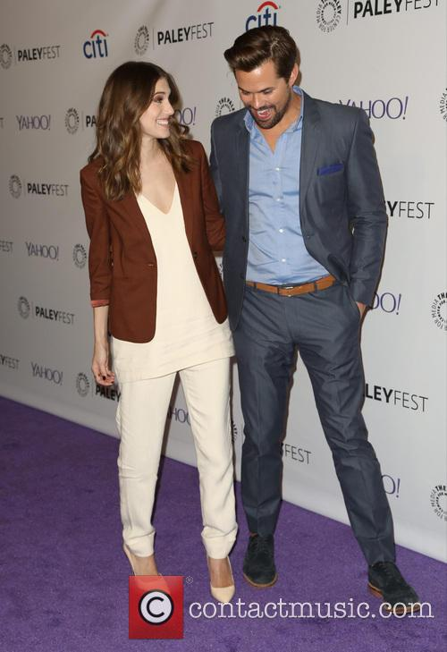 Allison Williams and Andrew Rannells 2