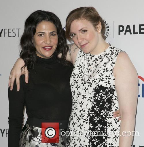 Jenni Konner and Lena Dunham 11