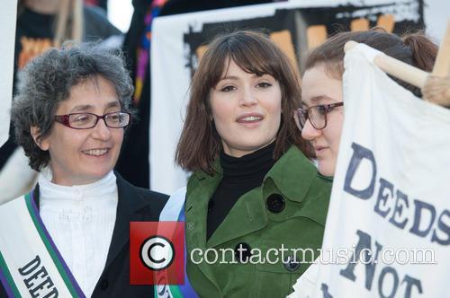 Gemma Arterton, Helen Pankhurst and Laura Pankhurst 11