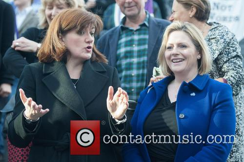 nicky Morgan and Guest 1