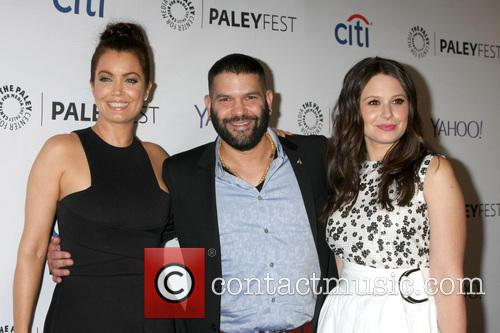 Bellamy Young, Guillermo Diaz and Katie Lowes 5