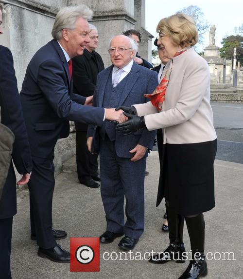 President Michael D Higgins and Sabina Coyne 2