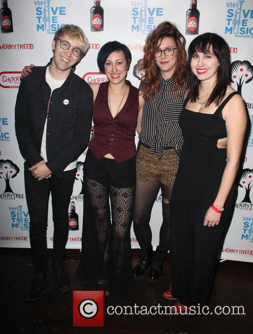 Members Of The Secret Someones, Zach Jones, Bess Rogers, Hannah Winkler and Lelia Broussard 1