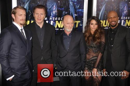 Joel Kinnaman, Liam Neeson, Ed Harris, Genesis Rodriguez and Common 1