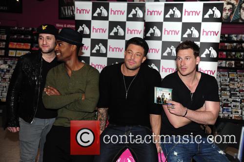 Blue, Antony Costa, Simon Webbe, Duncan James and Lee Ryan 3