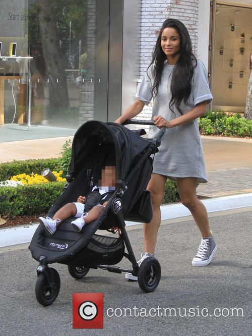 Ciara and Future Jr. 2