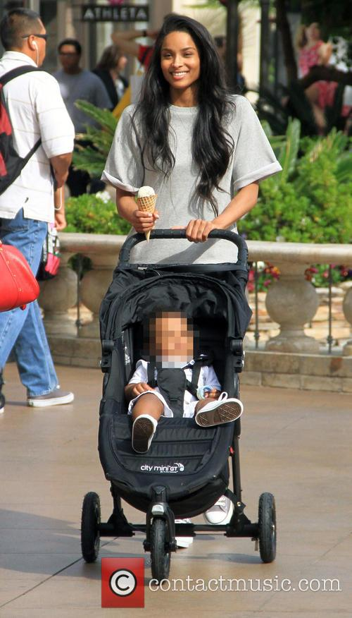 Ciara and Future Jr. 8