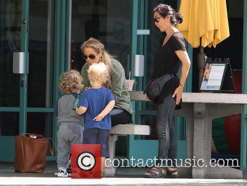 Elizabeth Berkley and Sky Cole Lauren 4