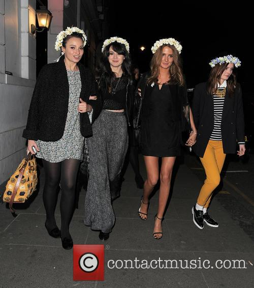Gizzi Erskine, Lilah Parsons, Millie Mackintosh and Charlotte De Carle 6