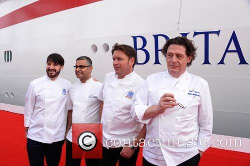 Eric Lanlard, Atul Kochhar, James Martin and Marco Pierre White 5