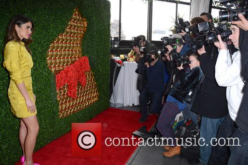 Nikki Reed celebrates the launch of the Lindt...